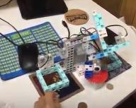 ブロック検査ロボット