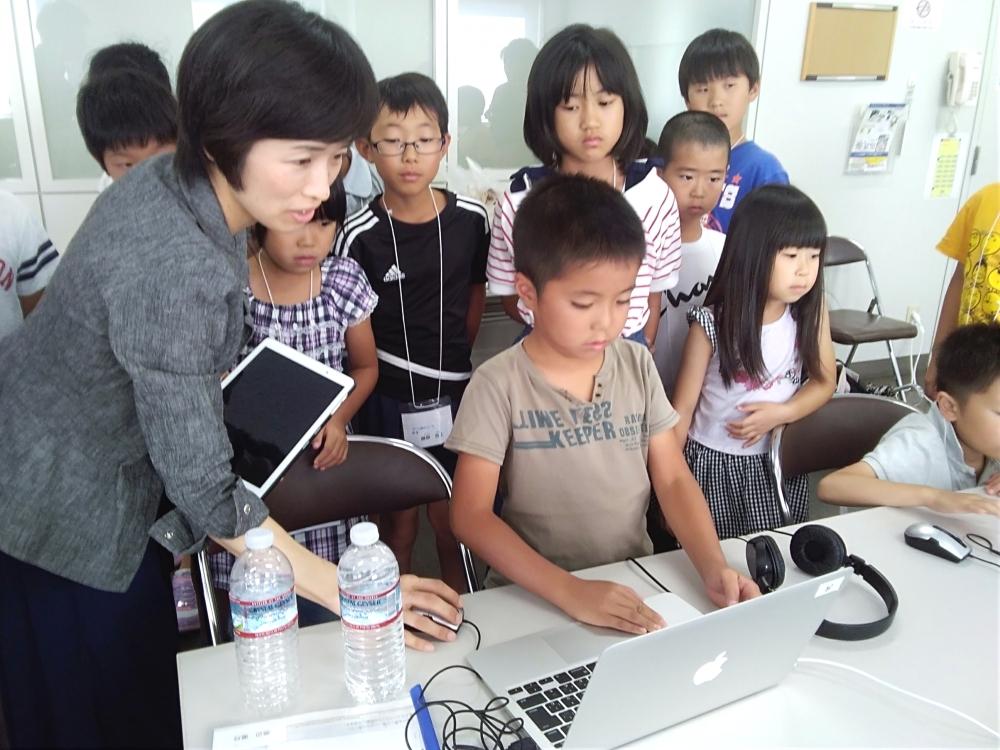 子供プログラミングイベント