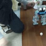 2足歩行ロボットサッカーキック