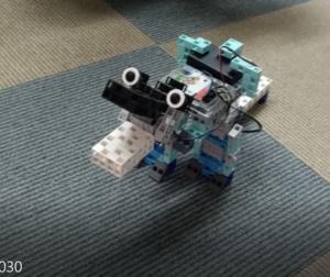 ロボットプログラミング「独自ティラノサウルス」